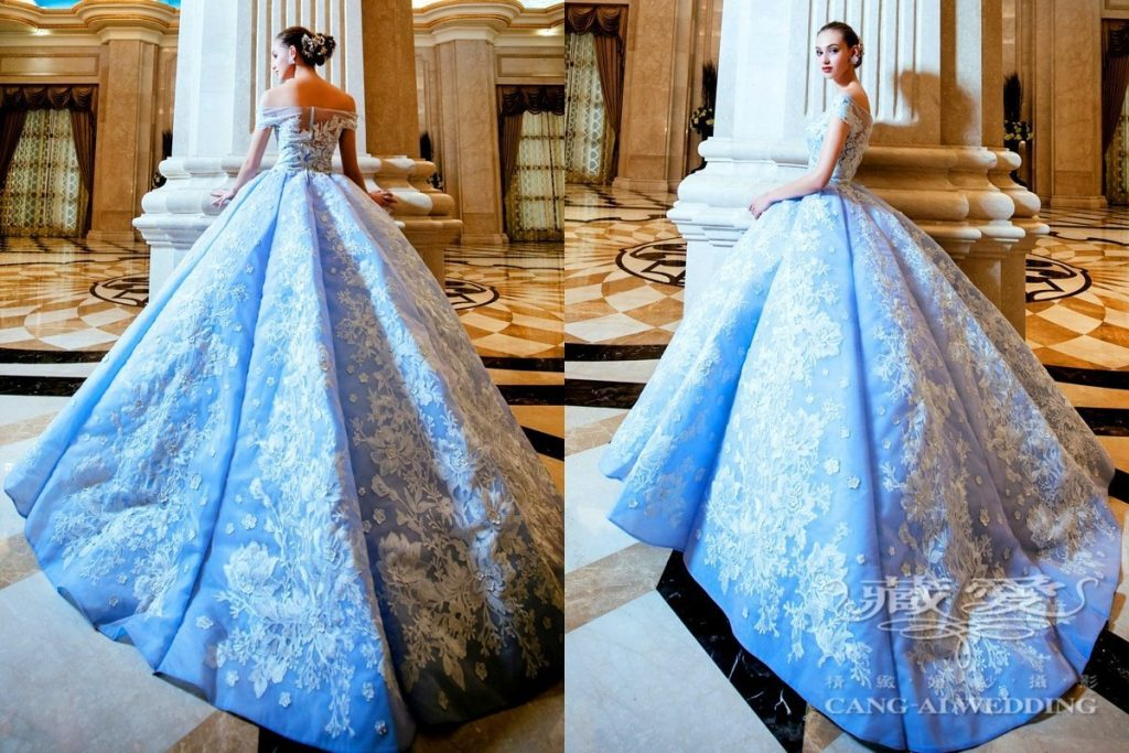 evening gown double 32