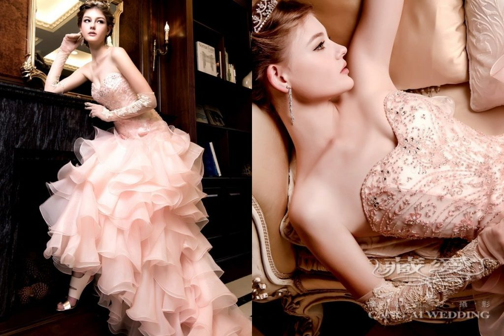 evening gown double 42