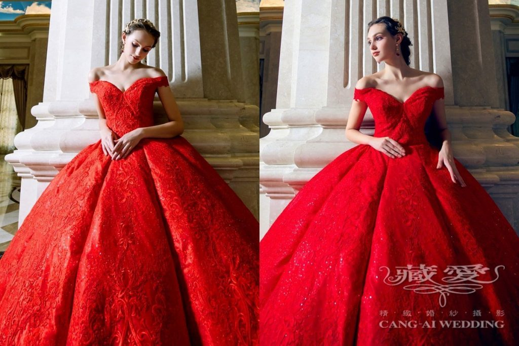 evening gown double 44