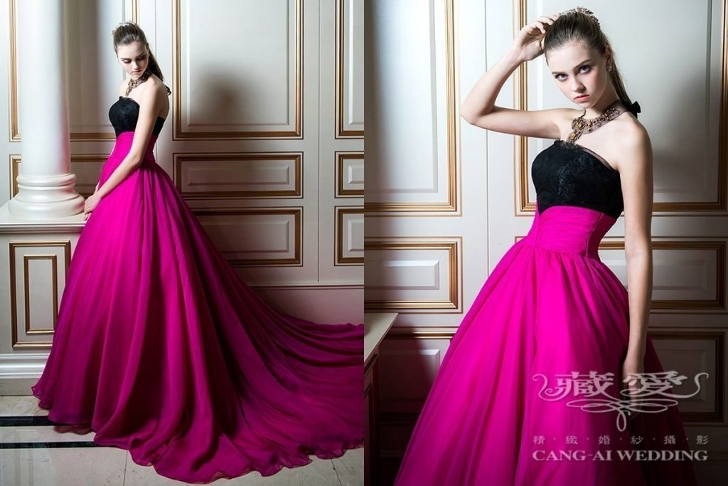 evening gown double 46