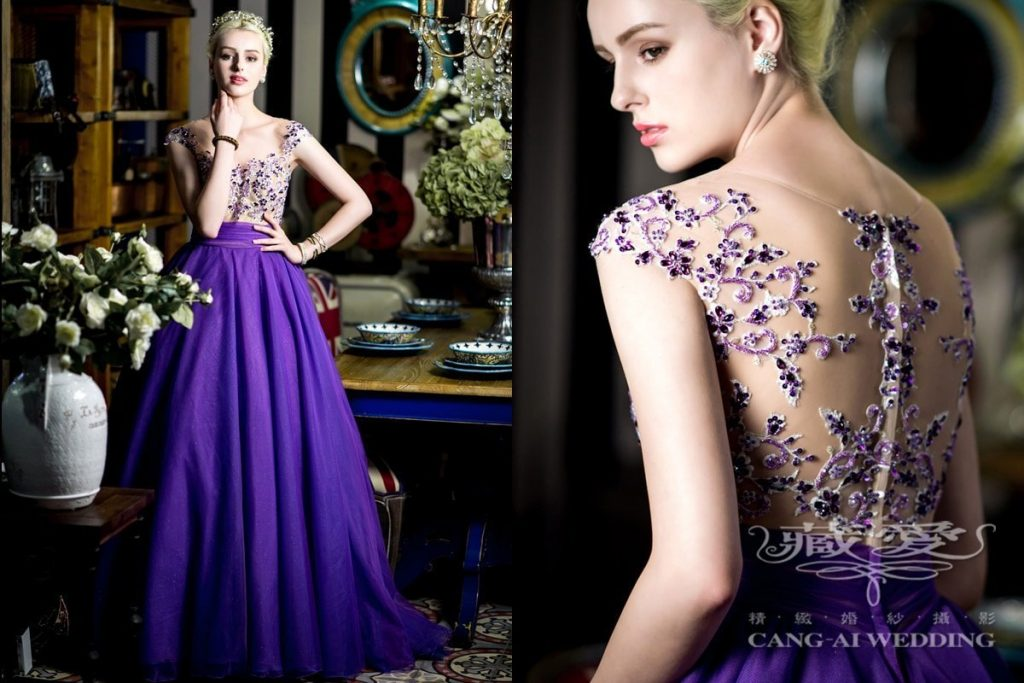 evening gown double 48
