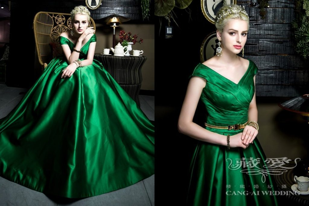 evening gown double 50