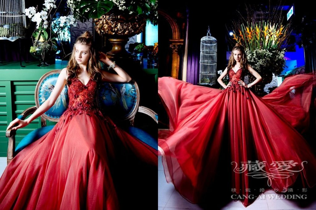 evening gown double 54