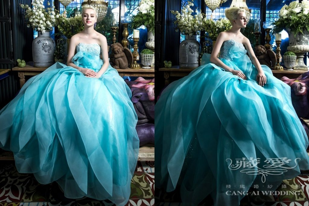 evening gown double 62