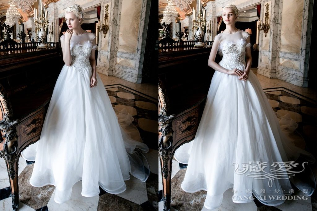 wedding gown double 11