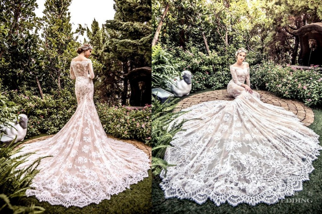 wedding gown double 12