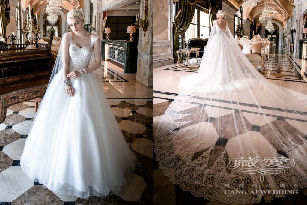 wedding gown double 13