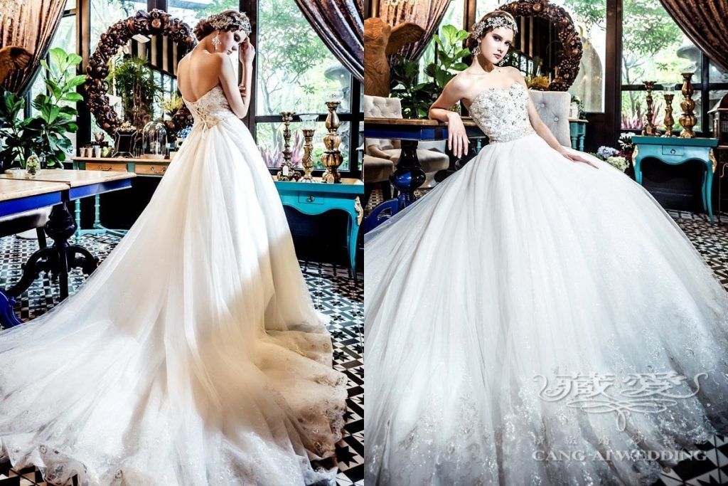wedding gown double 14