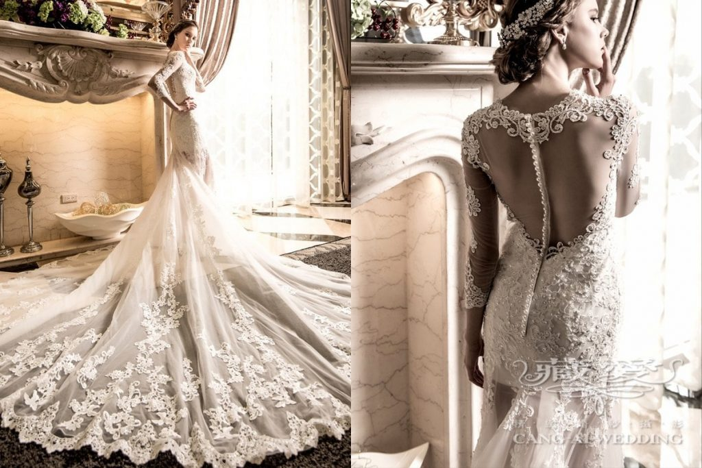 wedding gown double 15