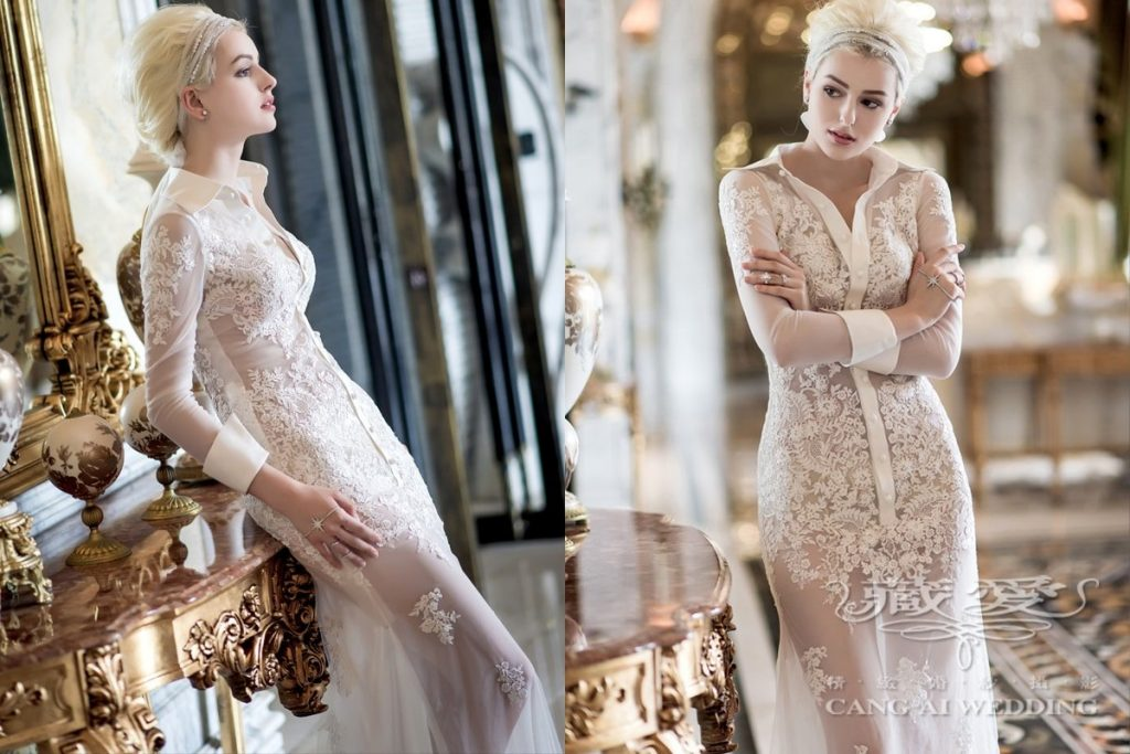 wedding gown double 18