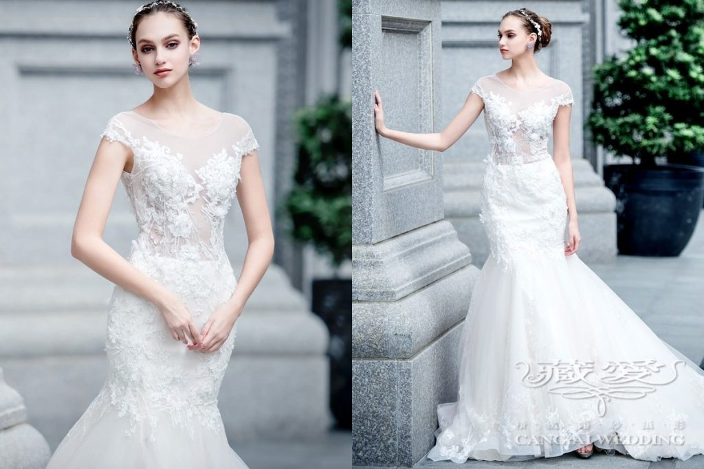 wedding gown double 19