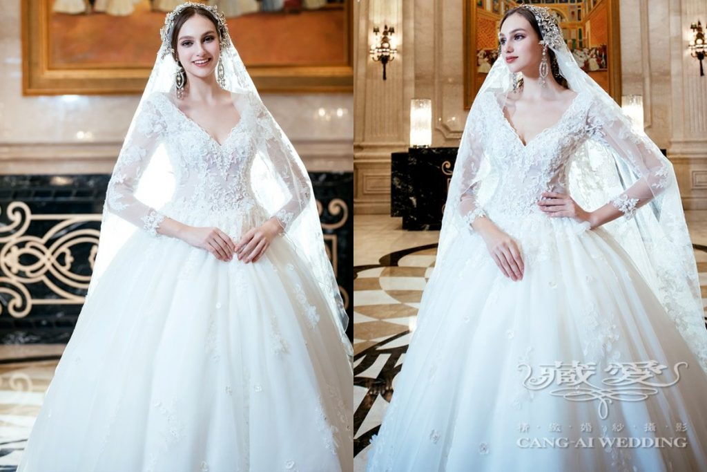 wedding gown double 20