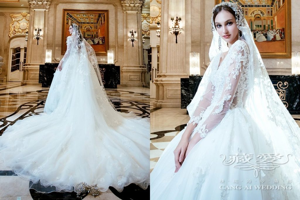 wedding gown double 23