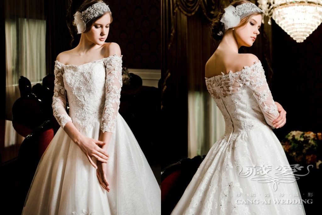 wedding gown double 24