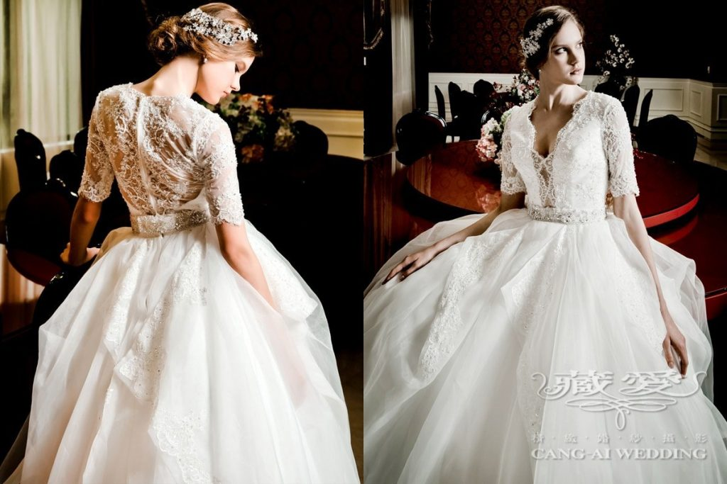 wedding gown double 25