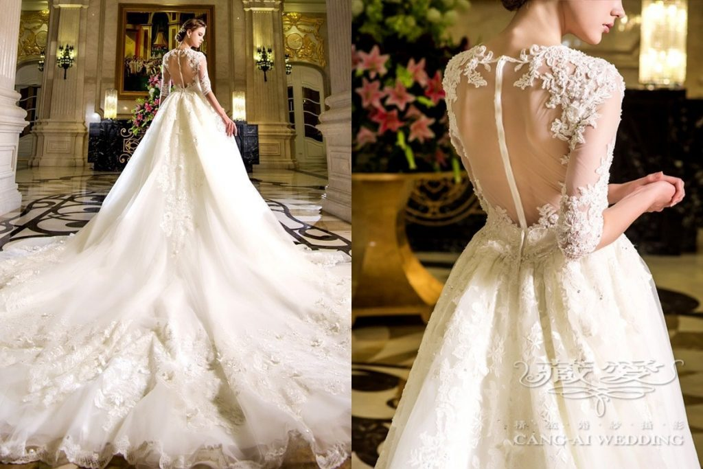 wedding gown double 27