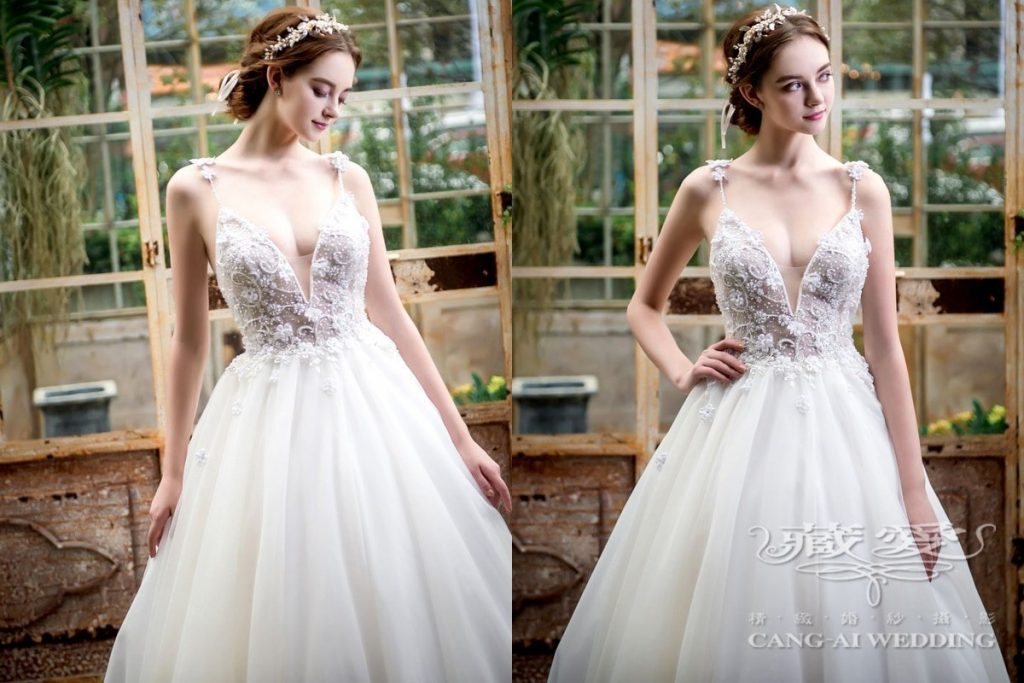 wedding gown double 29