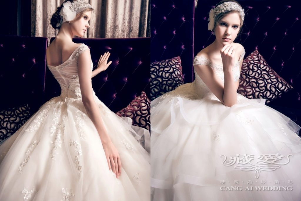 wedding gown double 30