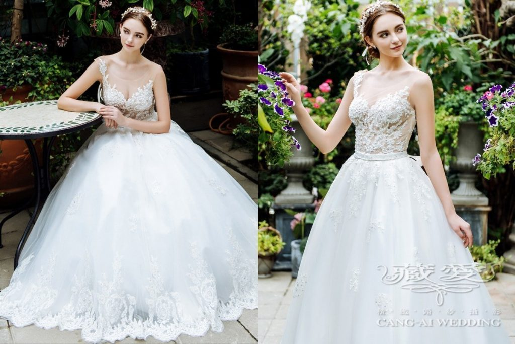 wedding gown double 32