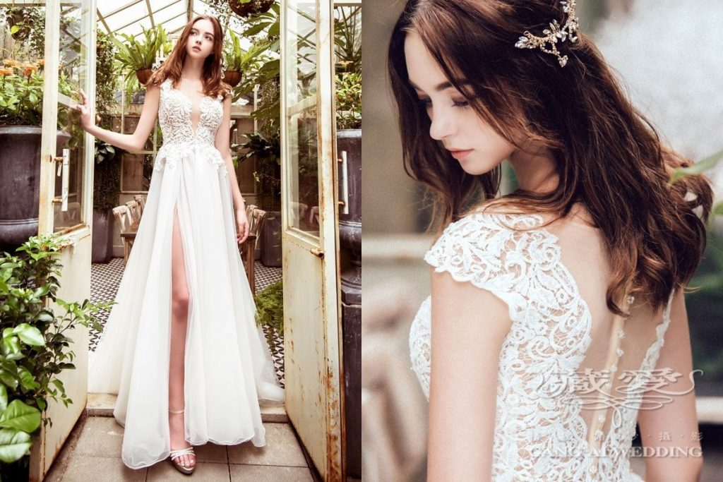 wedding gown double 33