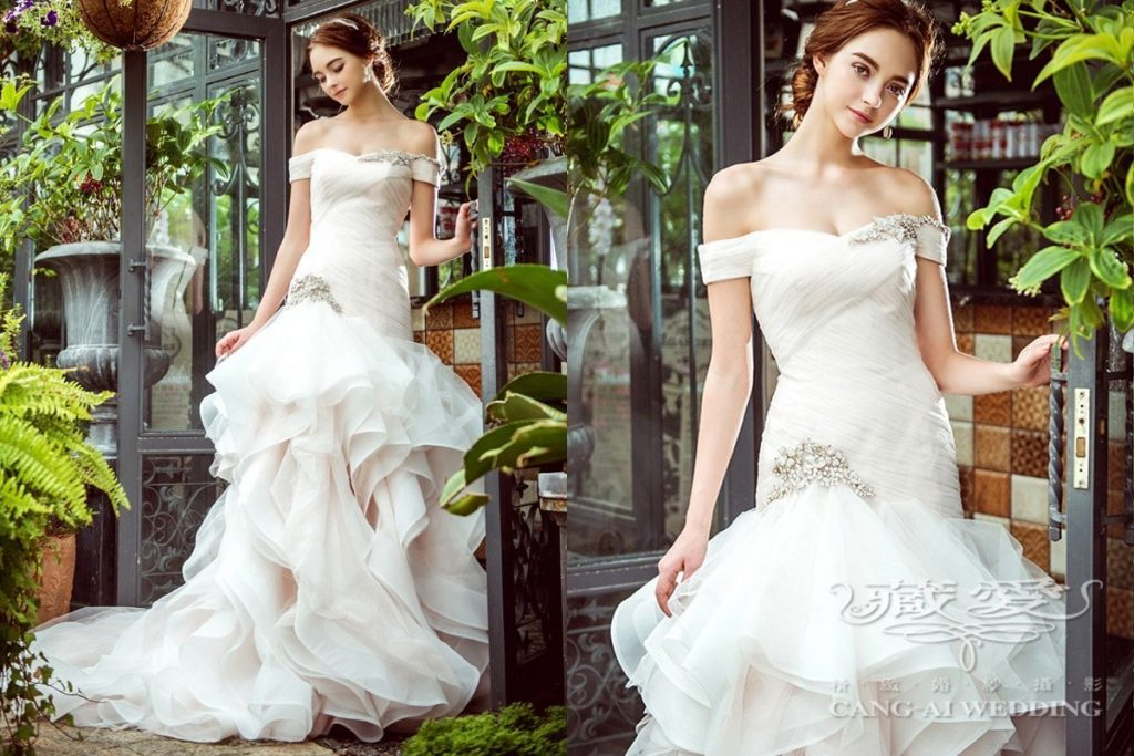 wedding gown double 34