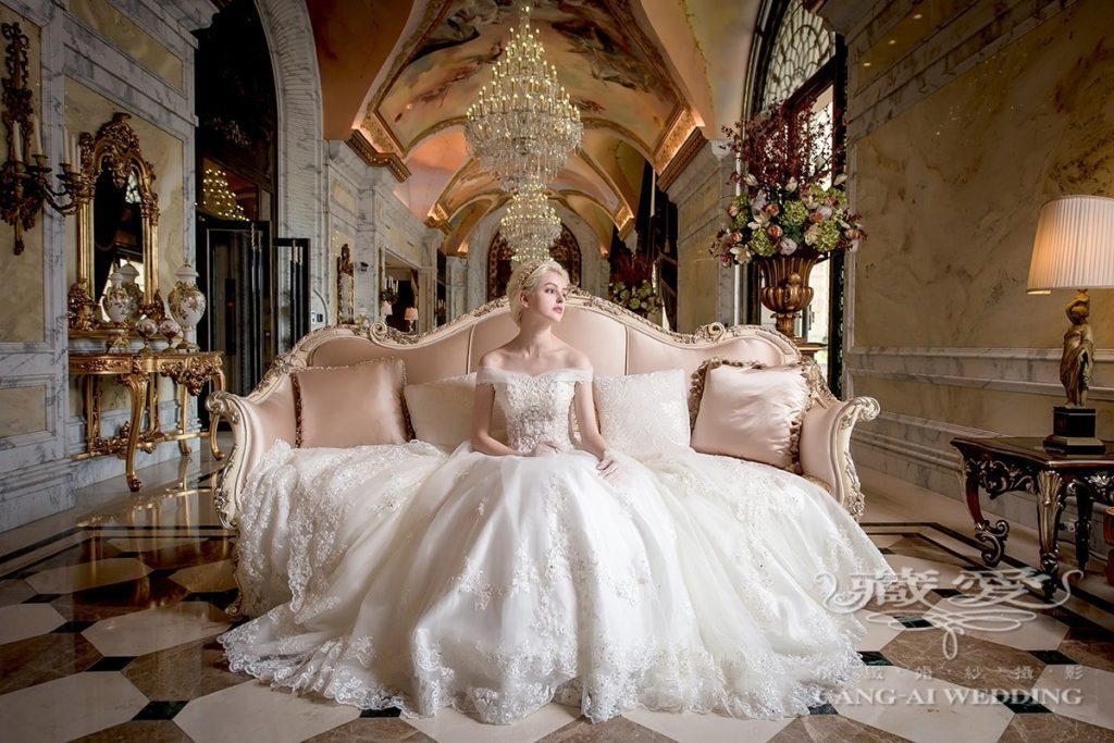 wedding gown double 35