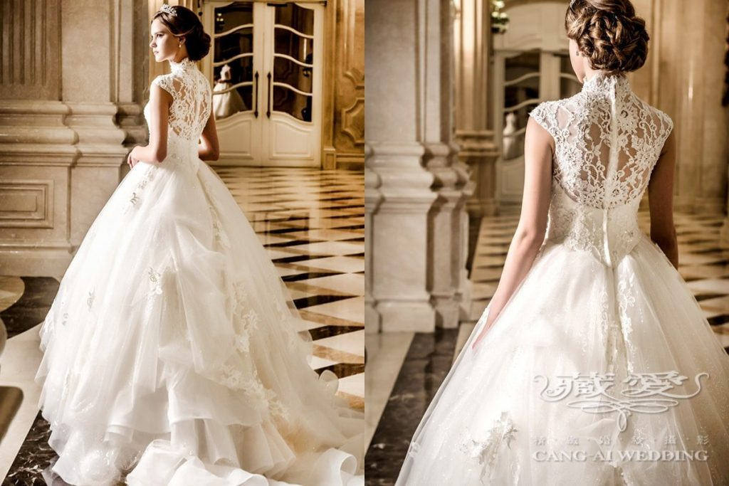wedding gown double 36