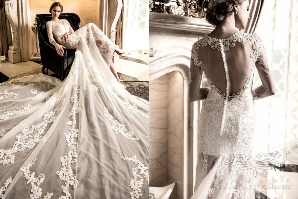 wedding gown double 37