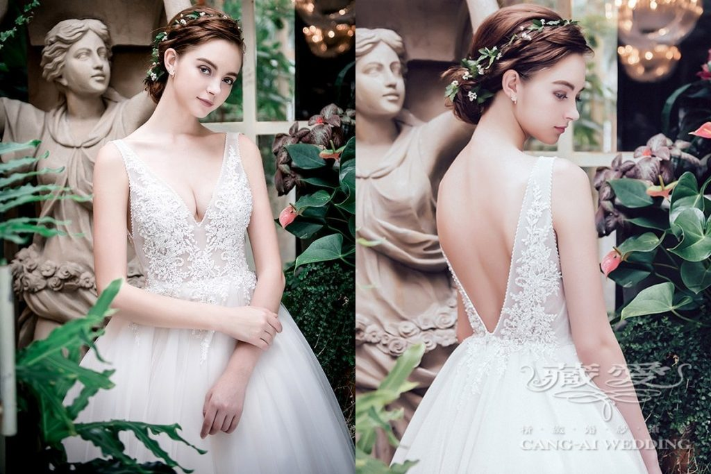 wedding gown double 41