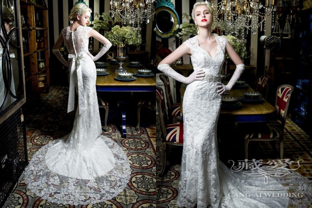 wedding gown double 46