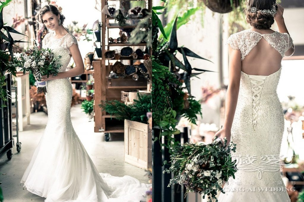 wedding gown double 48
