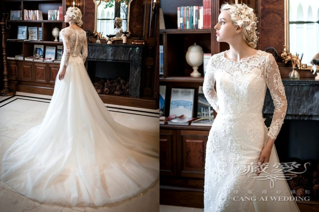 wedding gown double 49