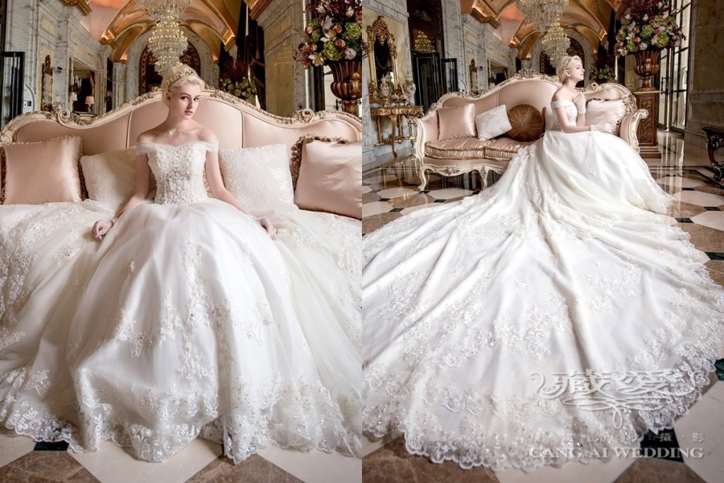 wedding gown double 52