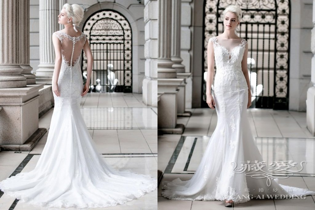Taiwan Designed Wedding Gown