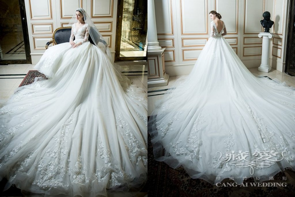 wedding gown double 9